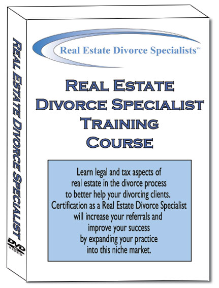 Real Estate Divorce Specialist Training Course