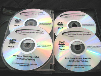 Real Estate Divorce Specialist Training Course  DVDs